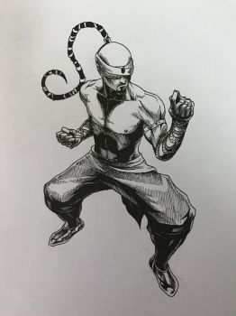 INK-Lee Sin by azfacer