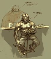 Wolvie and Hulk by ChristianNauck