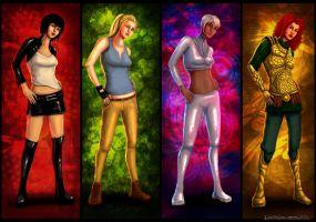 Generic Female Characters by SPyWorkz