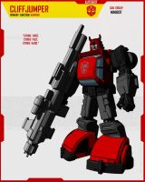 MINIBOT CLIFFJUMPER by F-for-feasant-design