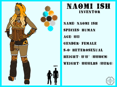Naomi Reference by Alieraah