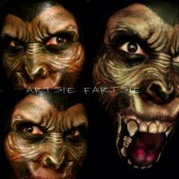 PLANET OF THE APES by ARTSIE-FARTSIE-PAINT