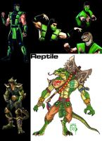 Reptile Evolution by W-Orks