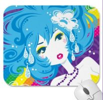crybaby mousepad by Blush-Art