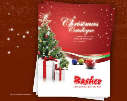 Christmas catalogue cover by owdesigns