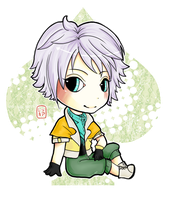 FFXIII - Hope Chibi by pockypaint