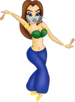 Comission: Belly dancer Melody by Sonala