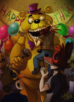 FNAF 4 - The Bite of '87 by LadyFiszi