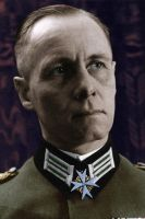 Erwin Rommel Interbellum Colorized by OldHank
