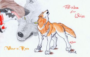 Wolfs Rain_Toboe by WhiteSpiritWolf