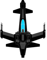 Republic Stealth Recon Fighter by JediArtisan