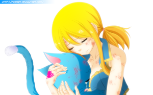 Lucy And Happy (FT:367) by PioDanilo