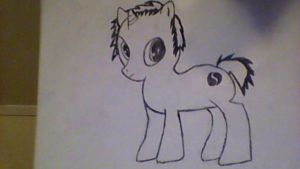 Cypris as a filly by Tydra759