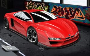 BMW M1 Concept by asoares