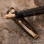 Parker Vacumatic Gold-Pearled - Close View by KBeezie
