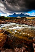 The glistening stones of Skye by LordLJCornellPhotos