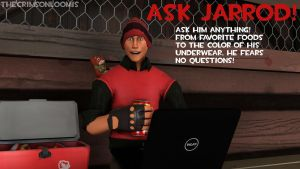 Ask Jarrod! by TheCrimsonLoomis
