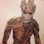 Groot by whosherlokid