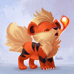 058 - Growlithe by TsaoShin