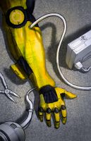 Yellow arm by DrGear