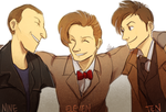 Doctor Who: 9 10 11 by ky-nim