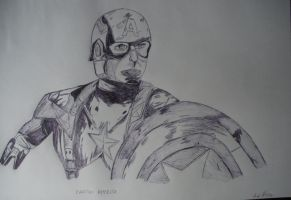 Capitan America by GigiSovereign