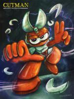 Cutman - Robot Master by friendbeard