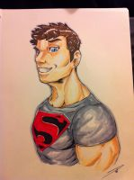 Superboy by Dericules
