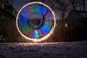 Light circle by refract1