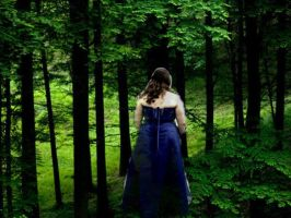 Blue Forest Angel 2 by Byrdgirl13
