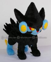 Luxray::::Pokemon::::: by Witchiko