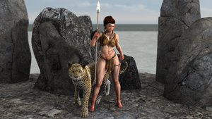 Domina Wild Woman by AwakeOrStillDreaming