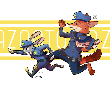 On The Chase! by HuiliZen