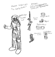 Hazard Soldier 13 by IrateResearchers