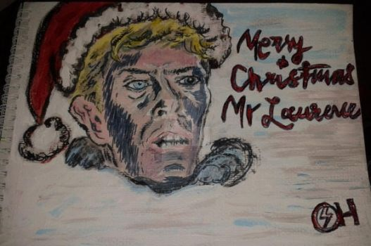 Merry Christmas Mr Bowie... by sensibleanimation