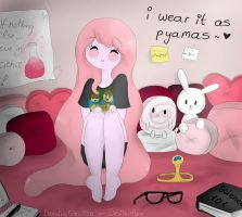 I wear it as pyamas by Drawing-Heart