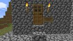 Minecraft Main Base front Door by Jhumperdink