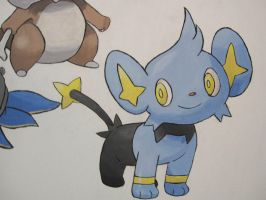 403 Shinx - painting by Crotchmonsoon