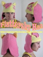 Fluttershy Hat by aquamarinedesign