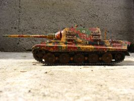 Jagdtiger on concrete by mufasa111