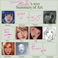 2011 Summary of Art by DarlingMionette
