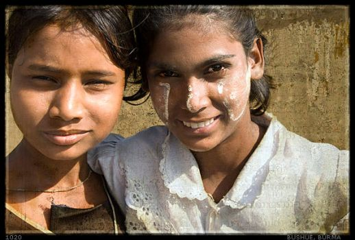 Two Girls from Rangoon by mjbeng
