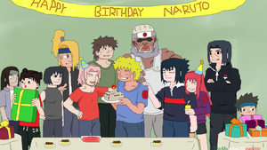 Happy Birthday Naruto (10/10/12) by TheMuseumOfJeanette