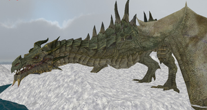 MMD Newcomer Young Paarthurnax + DL by Valforwing