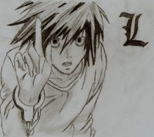 L Deathnote by EmosWho69