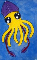 Giant Squid by nightengaleprincess