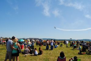 Romance - Love in the Air at Lehigh Valley Airshow by agentpalmer