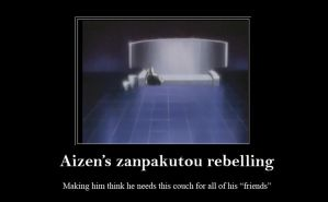 Aizen's zanpakuto motivational by YukoYanaLeslie