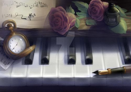 The Pianist by Kris-Goat