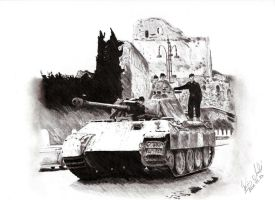Panther in Italy by Einsklein
